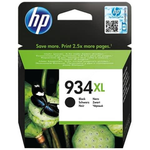 Cartuccia inkjet alta capacità 934XL HP nero C2P23AE
