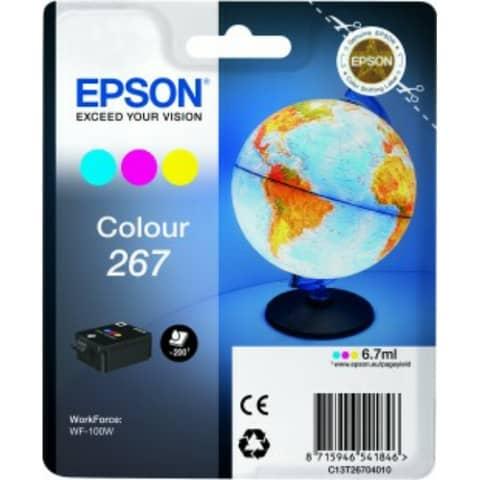 Cartuccia inkjet blister RS 267 Epson 3 colori C13T26704010