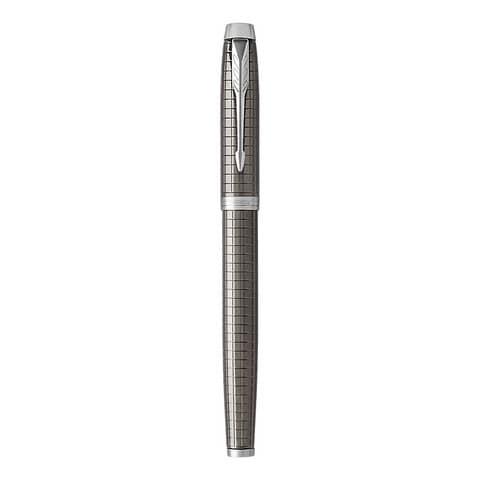 Penna stilografica Parker IM Premium pennino M Dark Espresso CT 1931680