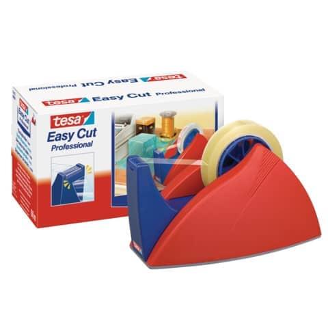 Tischabroller f. 66m rot-blau Produktbild