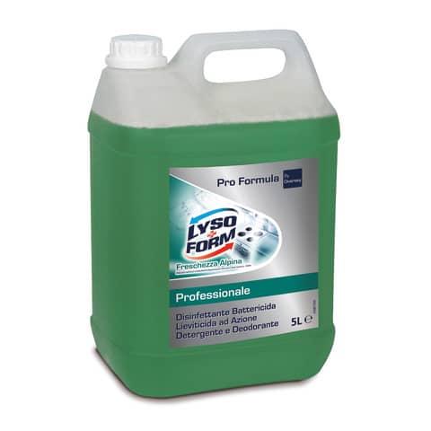 Detergente disinfettante Lysoform 5 L fragranza floreale 100887662
