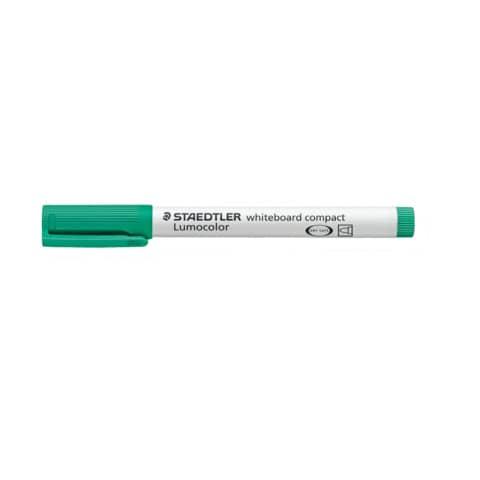 Marcatore per lavagne bianche Staedtler Lumocolor whiteboard compact 341 1-2 mm verde - 341-5