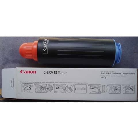 Toner C-EXV13BK Canon nero  0279B002AA