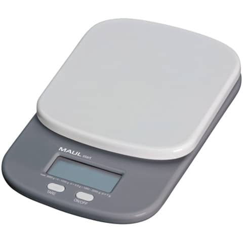 Bilancia MAUL pesalettere MAULstart plastica infrangibile grigio 2000g 1623082