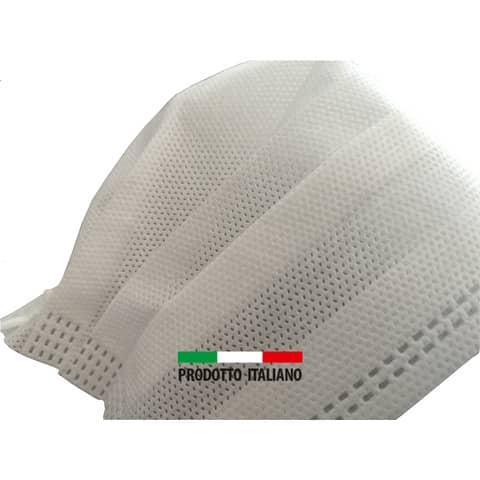 Mascherine chirurgiche monouso bianche Tipo II - Autorizzate dal Ministero della Salute - Conf. 50 pezzi - UNI 40 Immagine del prodotto Einzelbild 3 XL