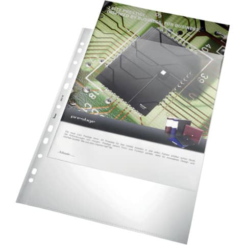 Klarsichthülle 100my A4 glasklar Produktbild