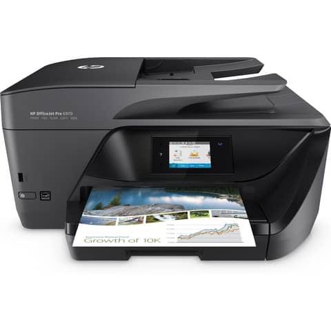 Stampante a colori multifunzione HP OfficeJet Pro 6970 T0F33A