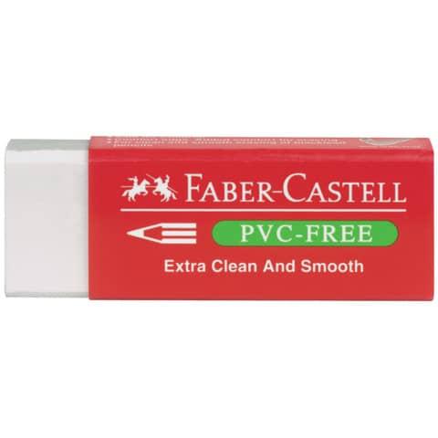 Gomma Faber-Castell 7095-20 per matita bianca con guaina 189520