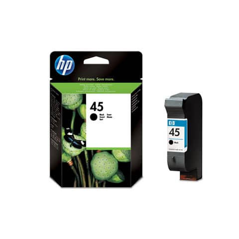 Cartuccia inkjet alta capacità 45 HP nero 51645AE