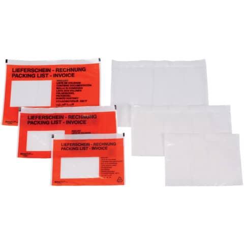Dokumententasche C5/6 transparent 2FVDO 335102 ohne Druck DOCUFIX 2FVDO335102 Produktbild Stammartikelabbildung XL