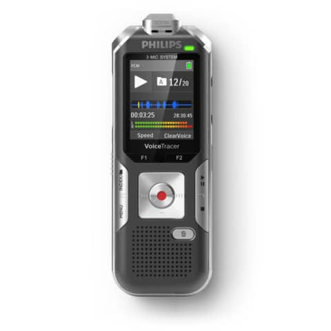 Registratore vocale digitale PHILIPS nero DVT6010