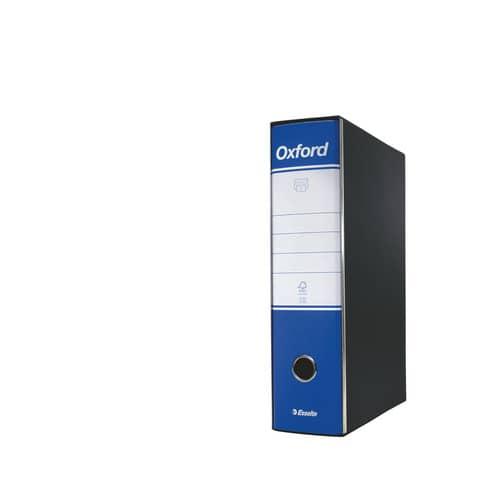 Registratore con custodia Esselte G85 Oxford protocollo 29,5x35 cm - dorso 8 cm blu - 390785050 Immagine del prodotto