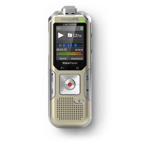 Registratore vocale digitale PHILIPS oro  DVT8010