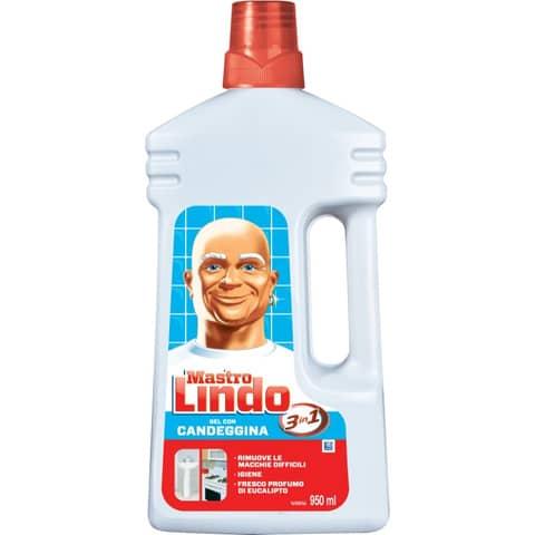 Detergente con candeggina Mastrolindo 3 in 1 - flacone 950 ml bianco PG090