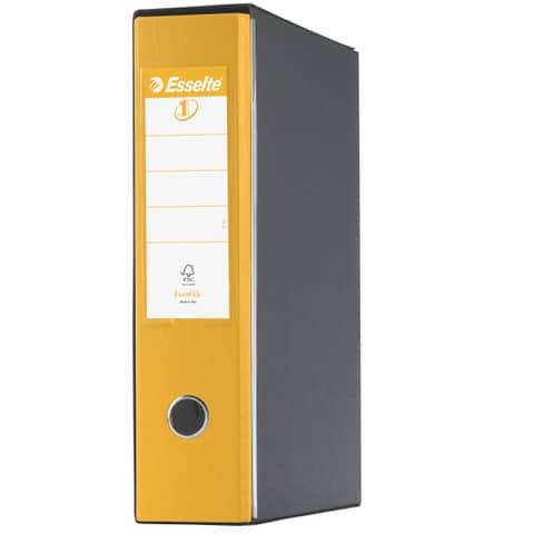 Registratore con custodia Esselte G55 Eurofile protocollo dorso 8 cm cartone rivestito in PP giallo - 390755090 Immagine del prodotto Einzelbild 2 XL