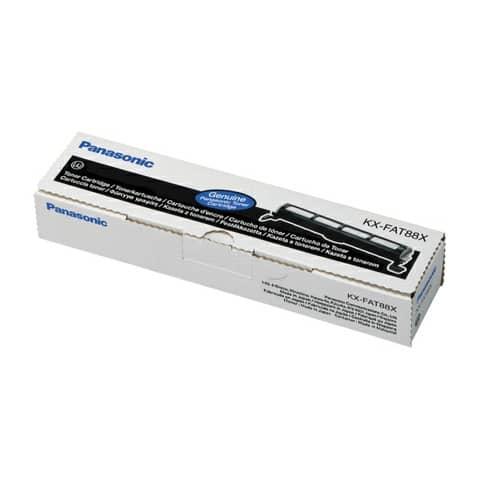 Toner Panasonic nero  KX-FAT88X