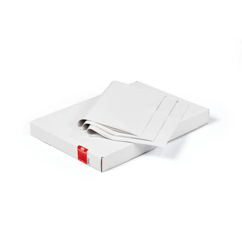 Scatola di carta velina piegata Rex-Sadoch 100x140 mm 31 g/m² bianco Conf. 100 pezzi - KVS31-BIA
