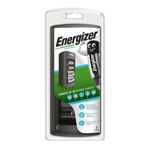 Caricabatterie ENERGIZER Universal  E301335800