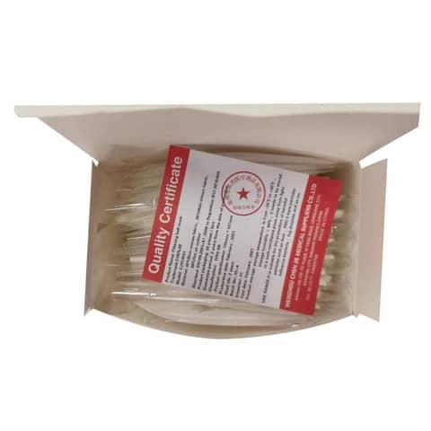 Mascherine monouso FFP2 bianche - Certificazione SGS CE0598 - Scatola da 20 pezzi, singolarmente imbustati Immagine del prodotto Einzelbild 3 XL