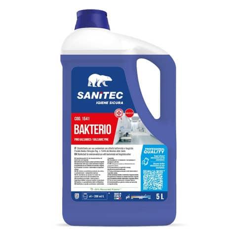 Disinfettante multisuperficie Sanitec Bakterio 5000 ml 1541