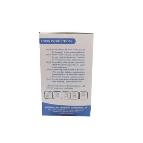 Mascherine monouso FFP2 bianche - Certificazione SGS CE0598 - Scatola da 20 pezzi, singolarmente imbustati Immagine del prodotto Einzelbild 4 XL