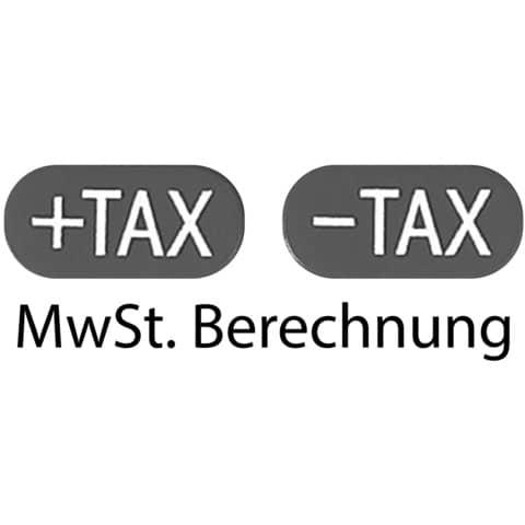Tischrechner 12-stell. schwarz/weiß SHARP SH-EL124TWH Produktbild Piktogramm XL