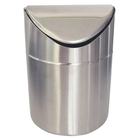 Cestini gettacarte argento h. 16 cm diametro 12 cm 337940