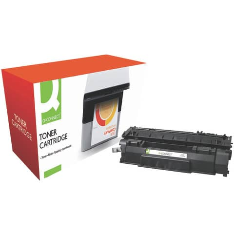 Toner Q-Connect compatibile con HP Q7553A - nero KF04324
