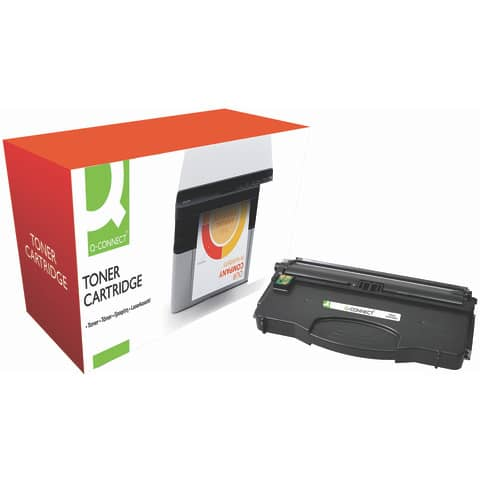 Toner Q-Connect compatibile con Lexmark 12016SE - nero KF10984