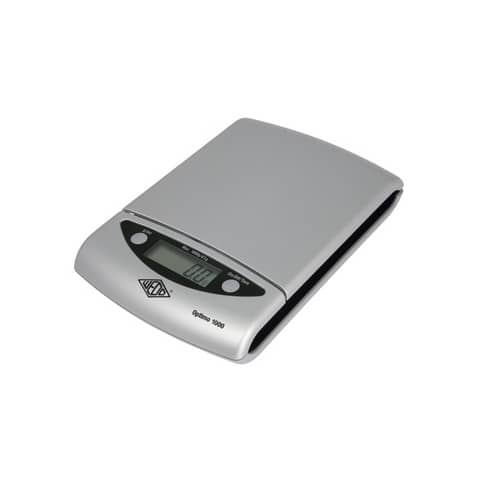 Bilancia pesalettere WEDO® Optimo 1000 elettronica argento/nero 481154