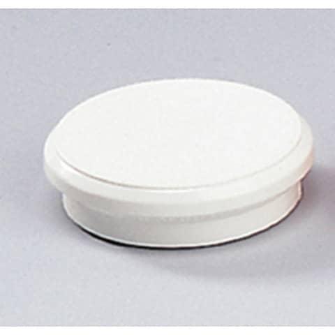 Magneti Dahle rotondi Ø 24 mm. bianco  conf. 10 pezzi - R955241x10