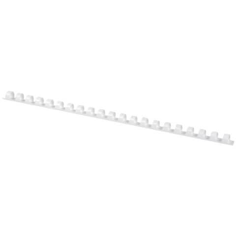 Dorsi a spirale Q-Connect A4 bianco 8 mm  Conf. 100 pezzi - KF24019