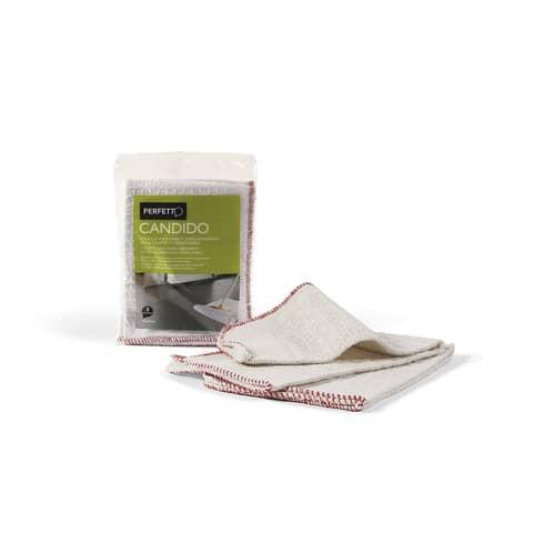 Strofinaccio per pavimenti Perfetto bianco Conf. 2 pezzi - 0266A