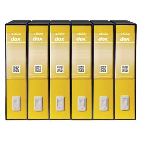 Registratore a leva DOX2 Protocollo 28,5x35 cm - dorso 8 cm rosso D26211 Immagine del prodotto Stammartikelabbildung XL