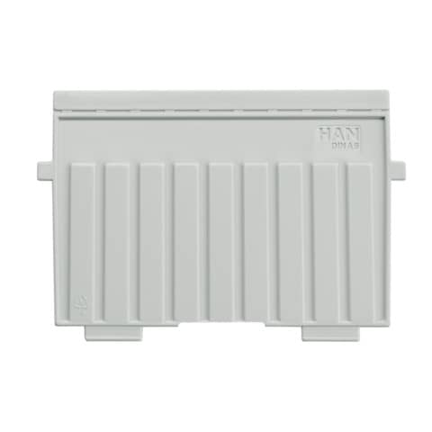 Trennplatte A6q l.grau Produktbild