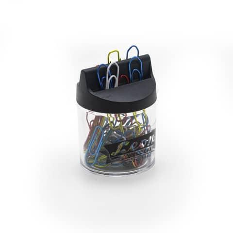 Fermagli Leonecolor in filo colorato metallizzato N. 4 Assortiti scatola da 60 pz. - FXM4