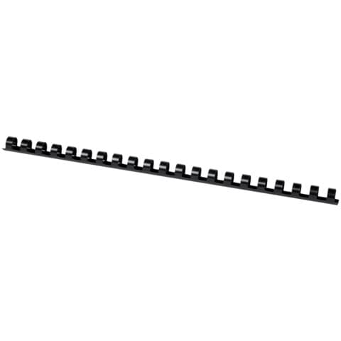 Dorsi a spirale Q-Connect A4 nero 12 mm  Conf. 100 pezzi - KF24022