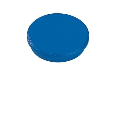 Magneti Dahle standard Ø 32 mm blu  conf. 10 pezzi - R955326x10