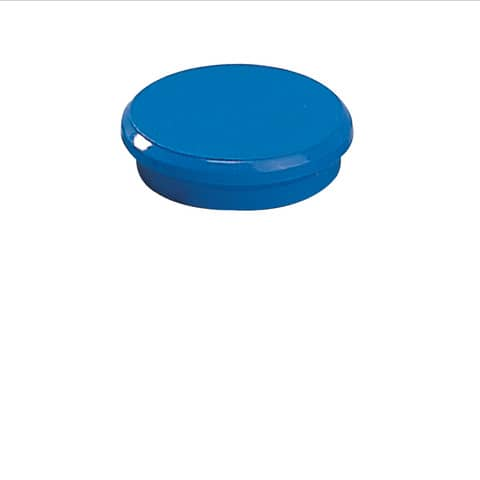 Magneti Dahle standard Ø 24 mm blu  conf. 10 pezzi - R955246x10