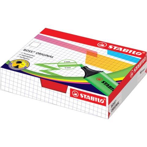 Evidenziatore Stabilo Boss Original 2-5 mm giallo 70/24 Immagine del prodotto Einzelbild 7 XL