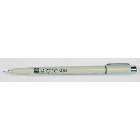 Fineliner Sakura Pigma Micron XSDK nero 0,2 mm A003001