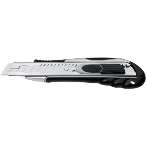 Cutter di sicurezza Westcott Duo Safety larghezza lama 18 mm grigio / nero E-84031 00