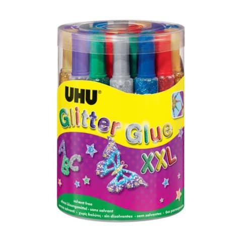 Colla Glitter Uhu 20 ml  Conf. 24 pezzi - D1553 Immagine del prodotto