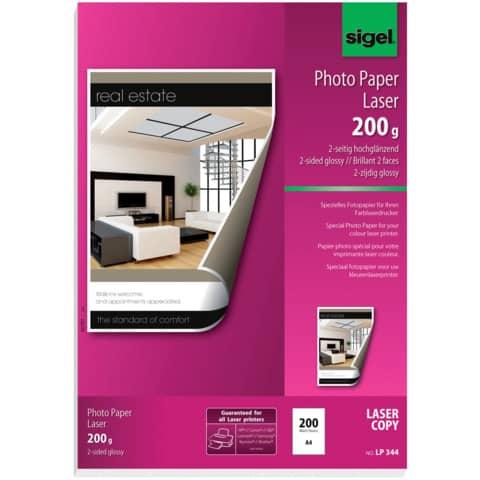 Laser Fotopapier A4 200g Produktbild