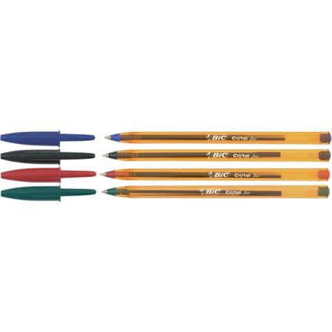 Penna a sfera BIC Cristal Fine 0,8 mm nero 872731 Immagine del prodotto Stammartikelabbildung XL