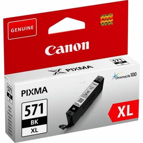 Cartuccia inkjet alta capacità CLI-571BK XL Canon nero 0331C001