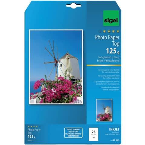 InkJet-Top-Photo-Papier, hochglänzend, IP663 Produktbild