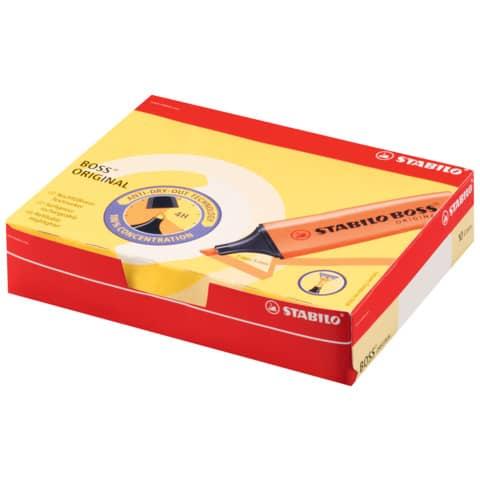 Evidenziatore Stabilo Boss Original 2-5 mm giallo 70/24 Immagine del prodotto Einzelbild 5 XL
