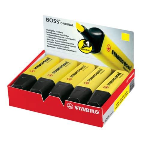 Evidenziatore Stabilo Boss Original 2-5 mm giallo 70/24 Immagine del prodotto Einzelbild 2 XL