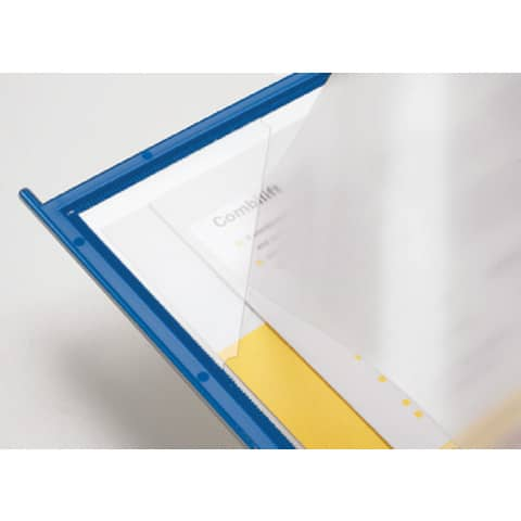 Pannello per leggìo da tavolo Q-Connect Quickfind blu conf. 10 pezzi - KF04602